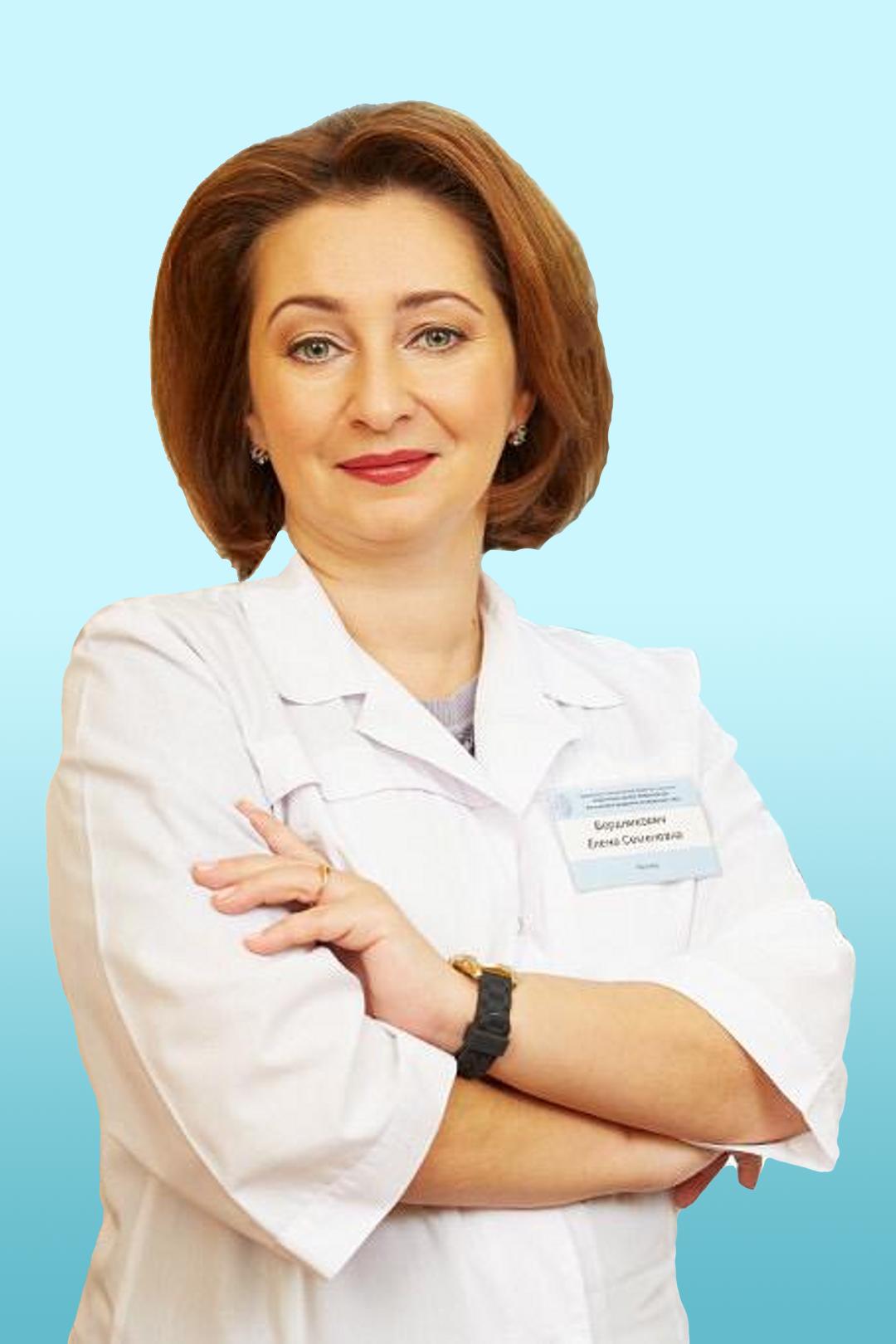 Врач-логопед Бердникович Елена Семеновна